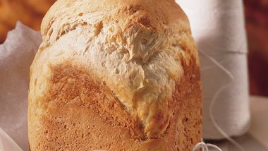 Bread Machine Crusty Sourdough Bread