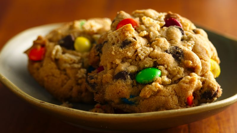 Gluten-Free Easy Monster Cookies