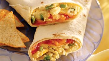 Mexican Breakfast Wraps