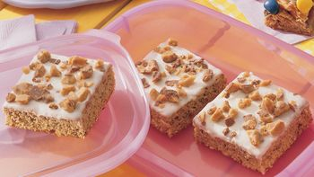 Banana Brickle Bars