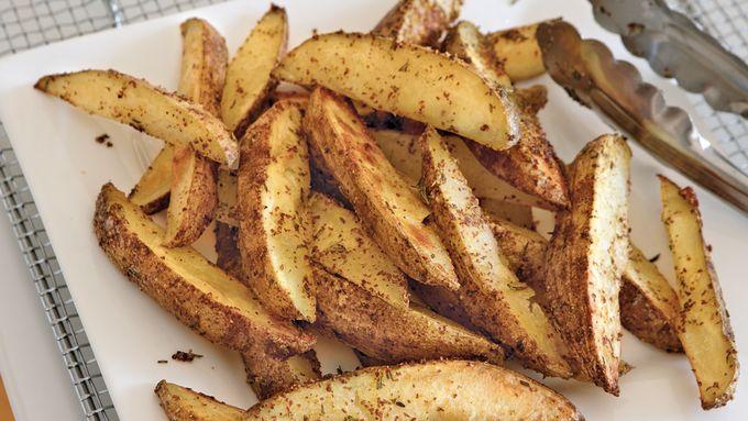 Malt Vinegar Potato Wedges