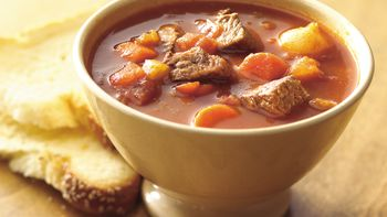 Easy Skillet  Beef and Vegetable Stew for Two