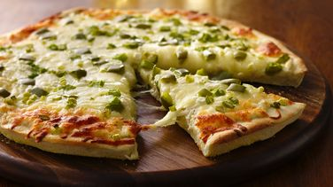 Baked Crab Rangoon Pizza