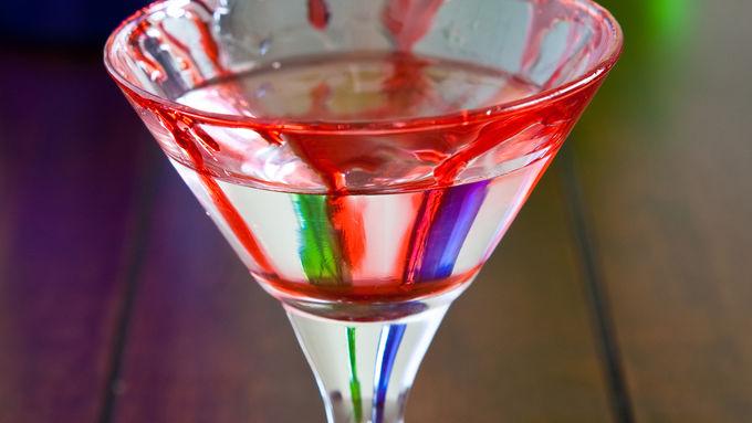 Halloween Bloody Martini