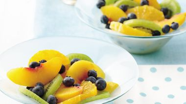 Fresh Fruit Salad with Poppy Seed Dressing