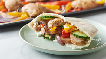 Sheet-Pan Chicken Shawarma