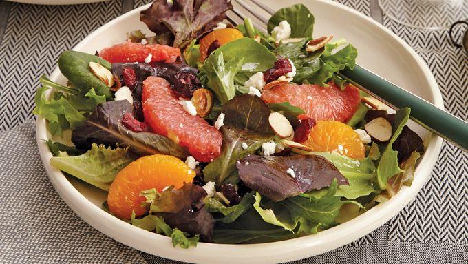 Winter Citrus and Greens Salad