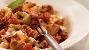 Slow-Cooker Cheesy Italian Tortellini