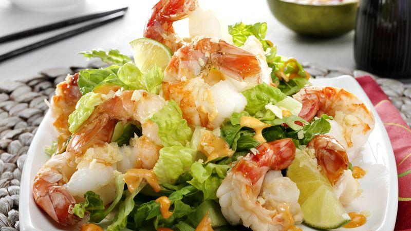 Spicy Shrimp with Bang Bang Sauce