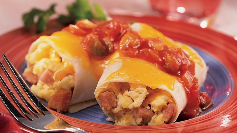 Weekend Breakfast Burritos