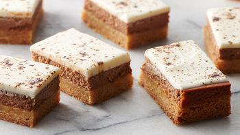 White Russian Cheesecake Cookie Bars