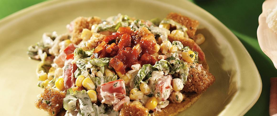 Fish taco salad recipe from betty crocker for Fish salad recipes