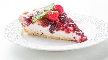 Cranberry Sour Cream Pie