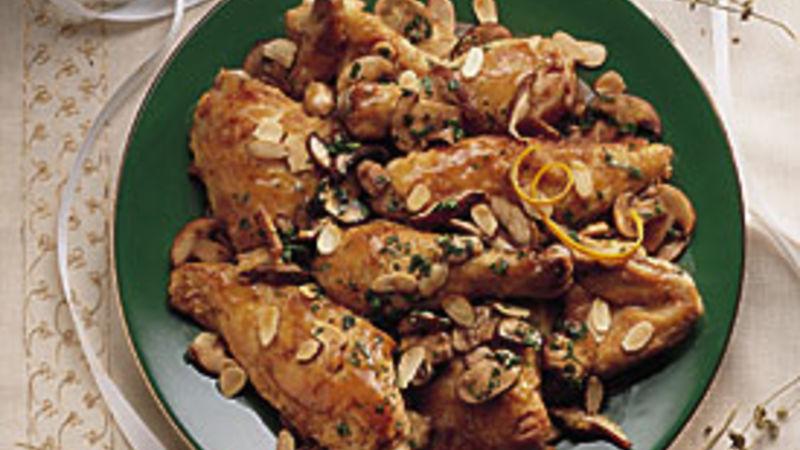 Elegant Orange-Almond Chicken