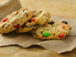 Super Chunky Trail Mix Cookies (White Whole Wheat Flour)
