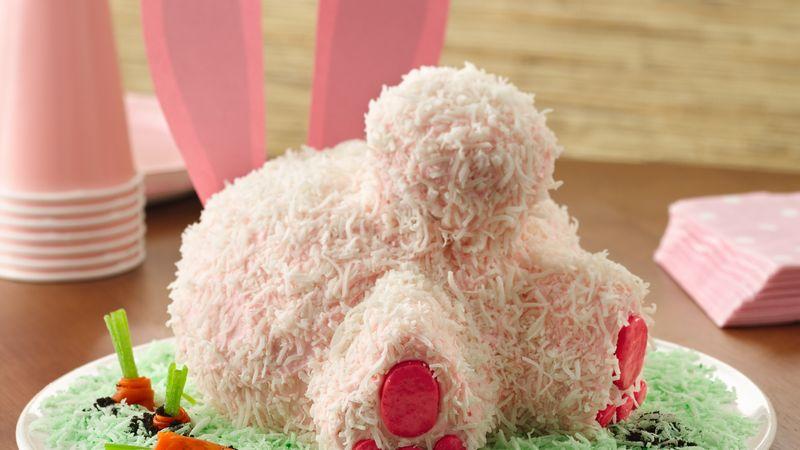 Bunny Butt Cake