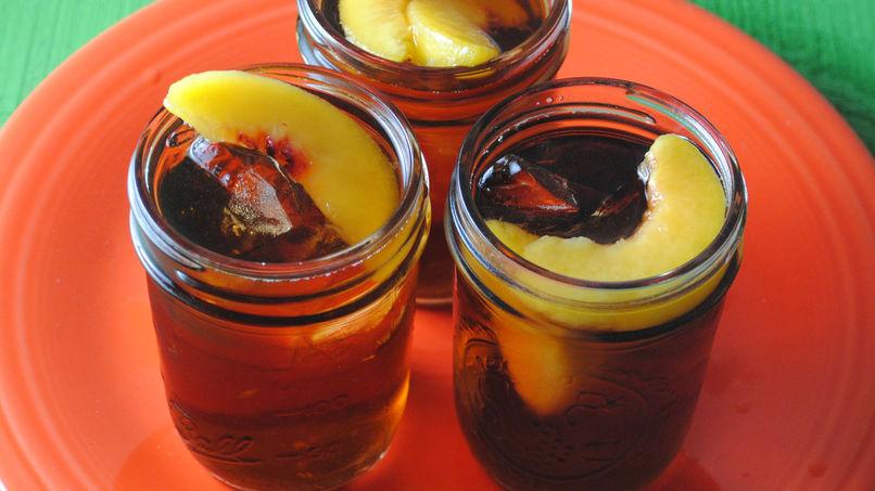 Peach Apple Tea