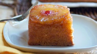 Boozy Pineapple Upside-Down Cake
