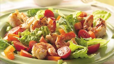 Grilled Shrimp Louis Salad