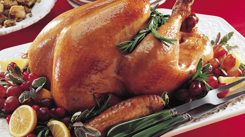 Rosemary Lemon Roasted Turkey