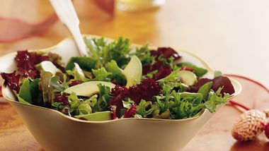 Mixed Baby Greens with Balsamic Vinaigrette