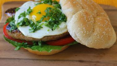 Chorizo and Egg Hamburger