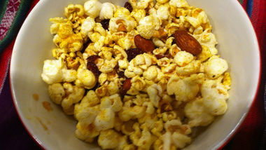 Curried Popcorn Mix