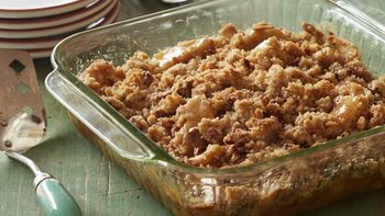 Gluten-Free Caramel Apple Crumble