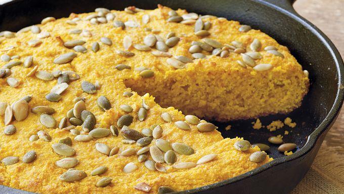 Pumpkin-Cheese Cornbread