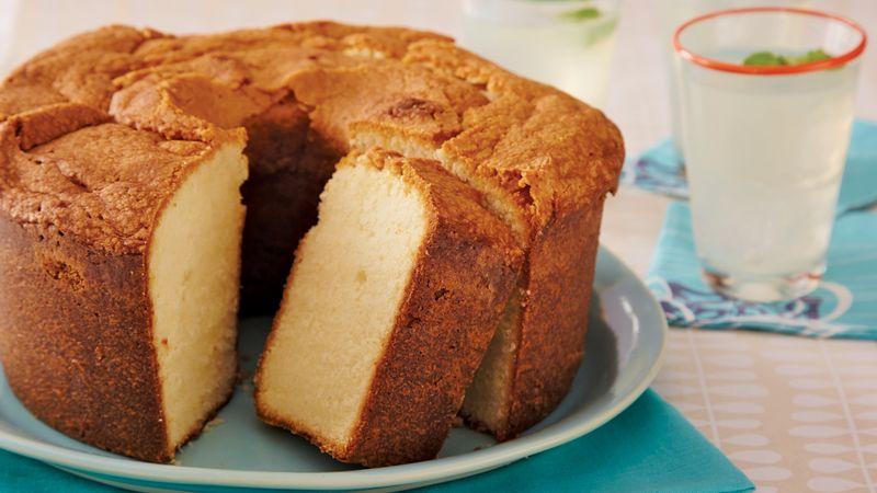 Two-Step Pound Cake