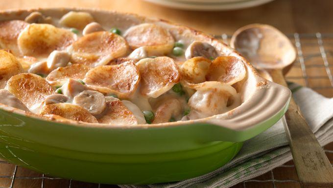Chicken Parmesan Asiago Casserole