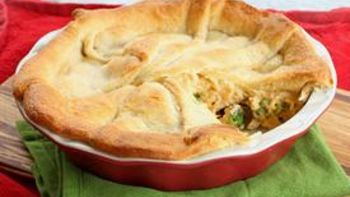 Cheesy Chicken, Broccoli, and Rice Bake