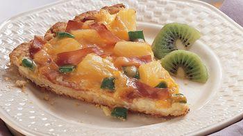 Hawaiian Brunch Pizza