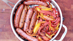 Chicken Sausage and Peppers