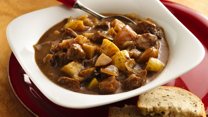 Slow-Cooker Fruit and Pork Stew