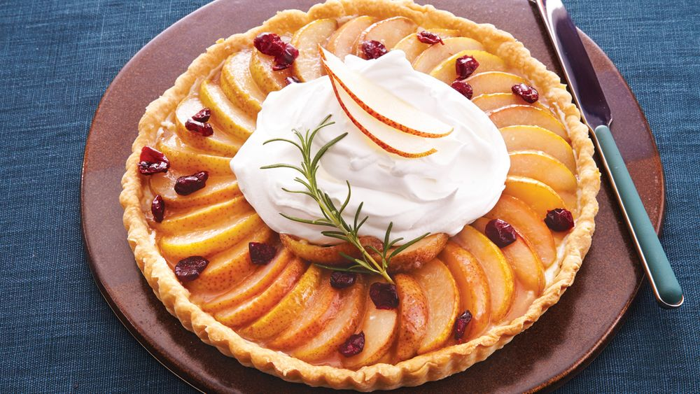 Pear Cranberry Tart recipe from Pillsbury.com