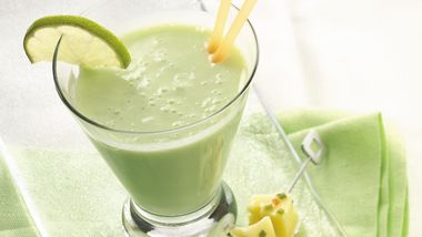 Key Lime-Banana Smoothie
