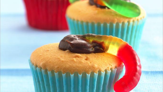 Night Crawler Cupcakes