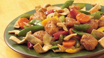 Crispy Chicken Chow Mein