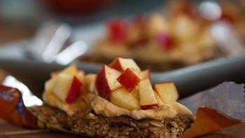 Pumpkin Apple Granola Bars