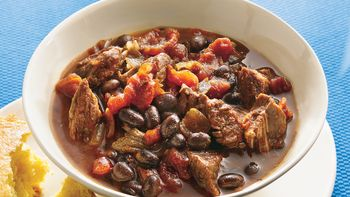 Slow-Cooker Beef and Bean Chili