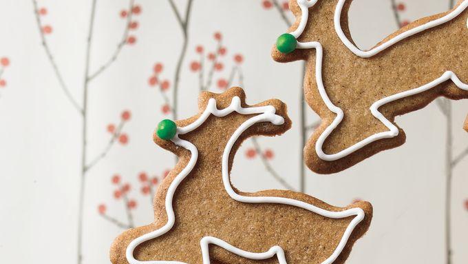 Reindeer Spice Cookies