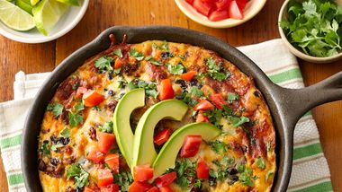 Impossibly Easy Mexican Chorizo Breakfast Bake (With Make-Ahead Directions)