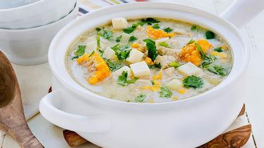 Venezuelan Hen Chupe Soup