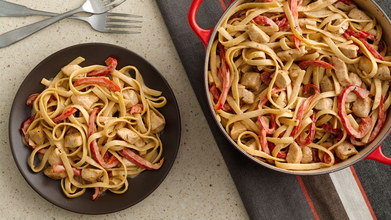 One-Pot Creamy Cajun Chicken Pasta
