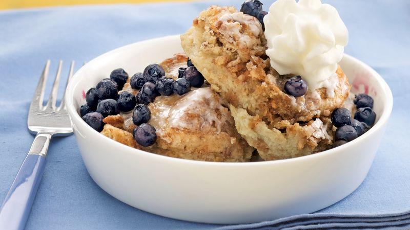 Blueberry-Banana-Granola French Toast