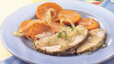 Slow-Cooker Winter Pork Roast Dinner