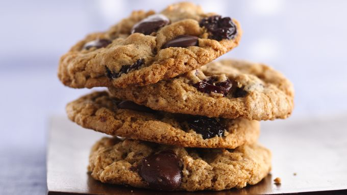 Dark Chocolate Cherry Multigrain Cookies recipe - from Tablespoon!