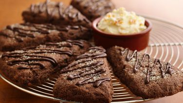 Double Chocolate-Orange Scones