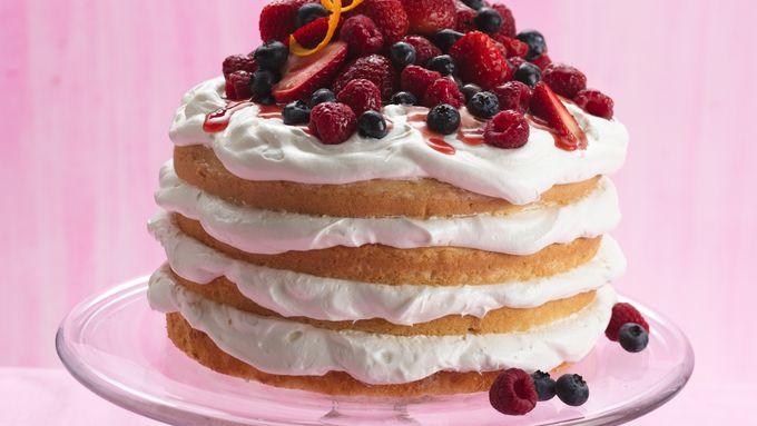 Berry Cream Torte